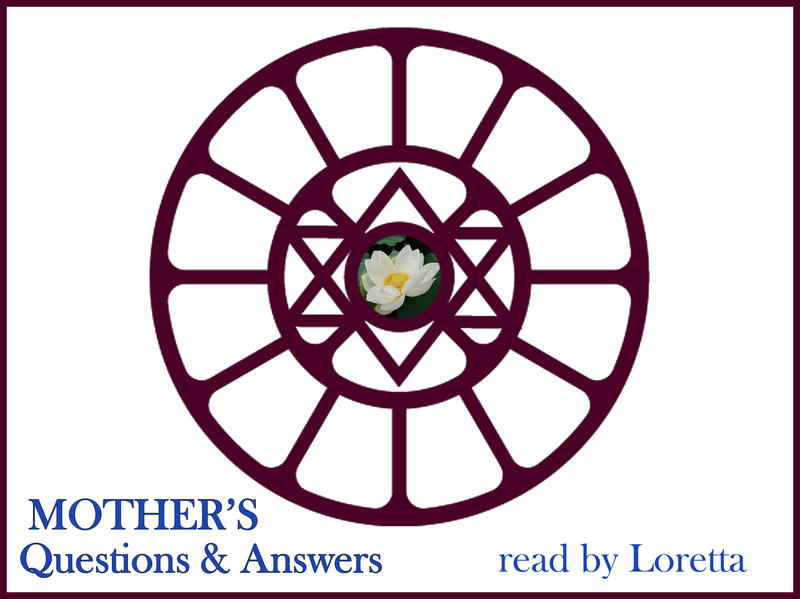 Photographer:Loretta | Sri Aurobindo's Symbol in Mother's Symbol, Design by Mother