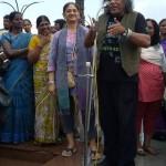 Pushpanath giving a talk