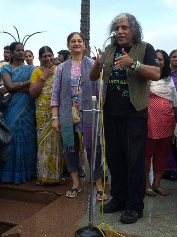 Photographer:Fair Trade Group | Pushpanath giving a talk