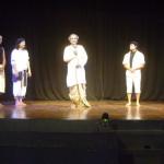 Mime Wait for Godot - performes with Shri Narankan Goswami