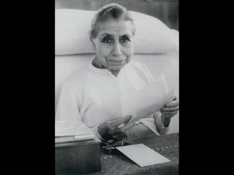 Photographer:Ashram Archives | Mother, 14/1/60
