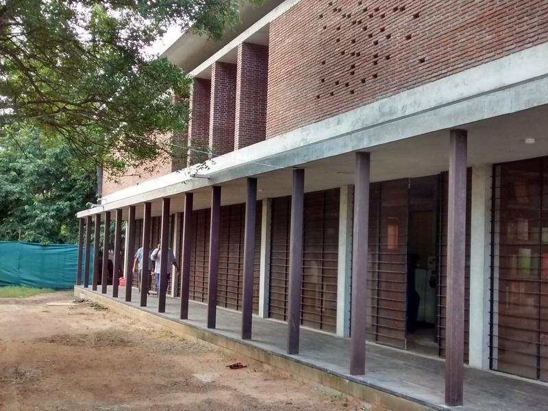 Photographer:Niveditha | The corridor of the factory unit - ground floor