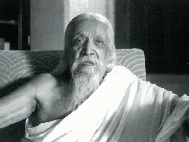 Photographer:Cartier Bresson | Sri Aurobindo, 23/4/50