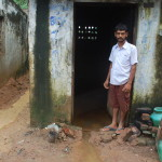 In Edayanchavadi, some people had to live into water more than knee-high.