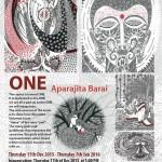 ONE at Kala Kendra inauguration today at 5pm by Aparajita Barai