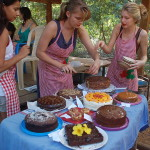 The candidates which took part in the Cake Competition.