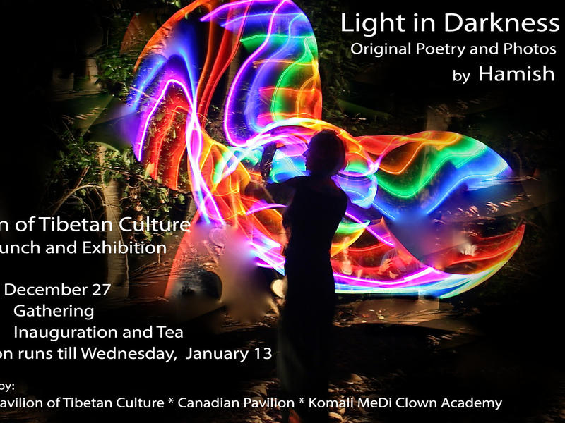 Photographer:Luciya | Light in Darkness - book launch on 27th