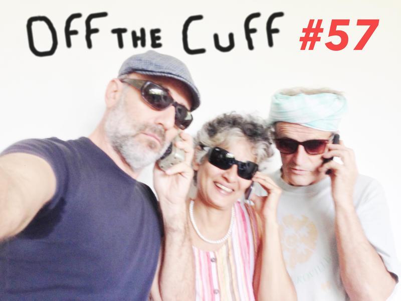 Photographer:Andrea   The Off The Cuff trio: Andrea, Renu and Wazo