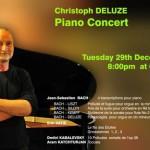 concert Tuesday 29th at 8pm at CRIPA