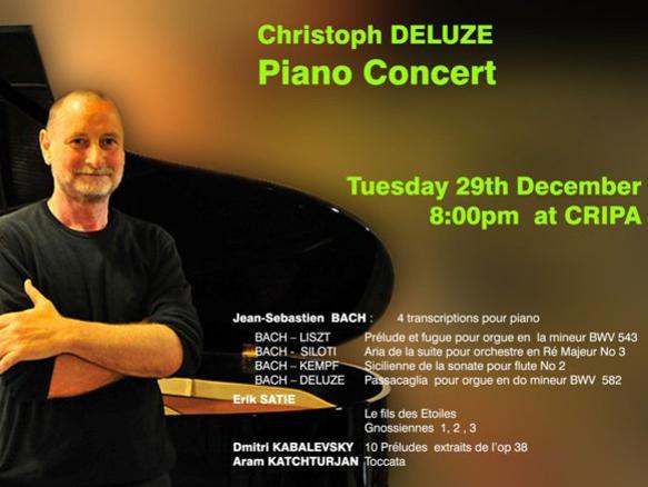 Photographer:web | concert Tuesday 29th at 8pm at CRIPA