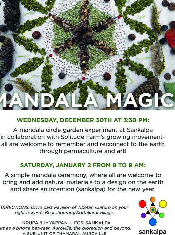 Photographer:web | Mandala Magics, Wednesday 30th Sankalpa