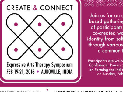 Photographer:web | Expressive Arts Therapy Symposium in Feb