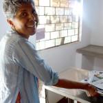 Rita D'Souza-Lachaux at the treatment room