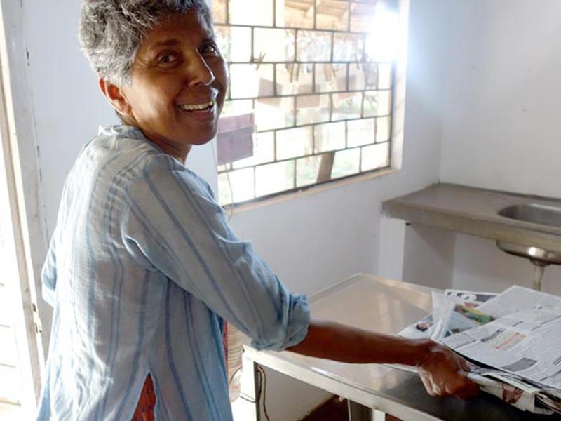 Photographer:The Unstitute | Rita D'Souza-Lachaux at the treatment room