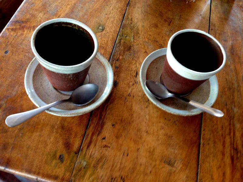 Photographer:The Unstitute | Earthy clay cups locally made