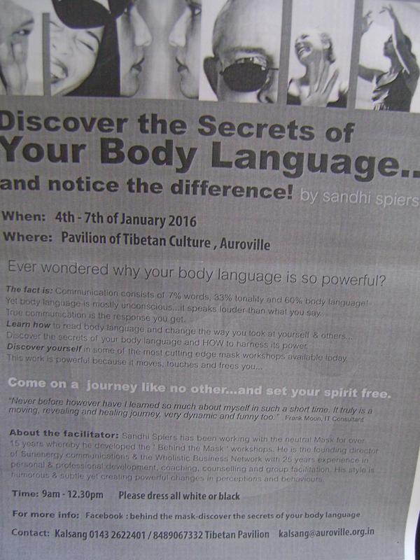 Photographer:Bethania   Your Body Language