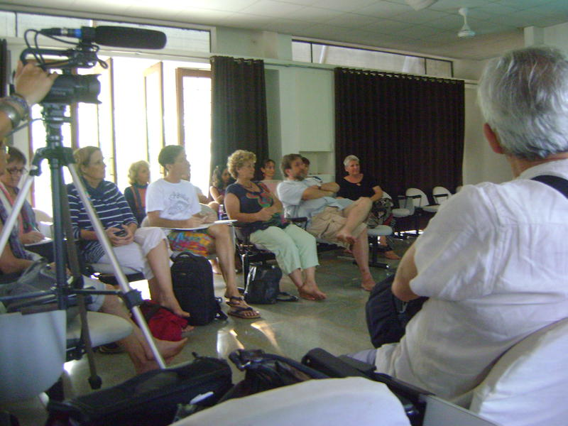 Photographer:Katarina | audience of architect, TDC, residents at SAIIER conference room