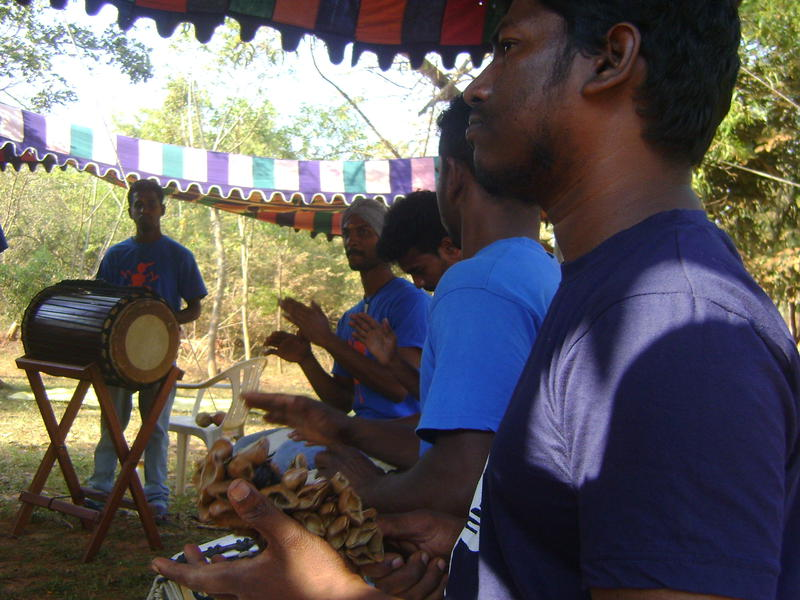 Photographer:Frida | Svaram Sounds performed percussion music