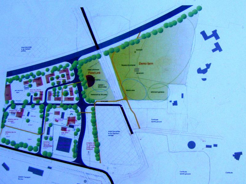 Photographer:Frida | Plan of the new Food Link area