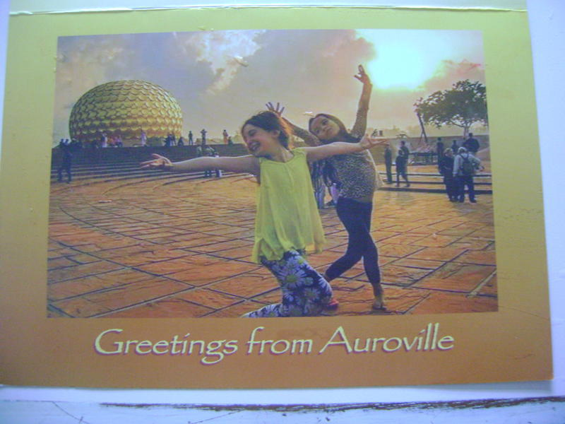 Photographer:Ghea | Greetings from Auroville - design by Jamsine and Aravinda