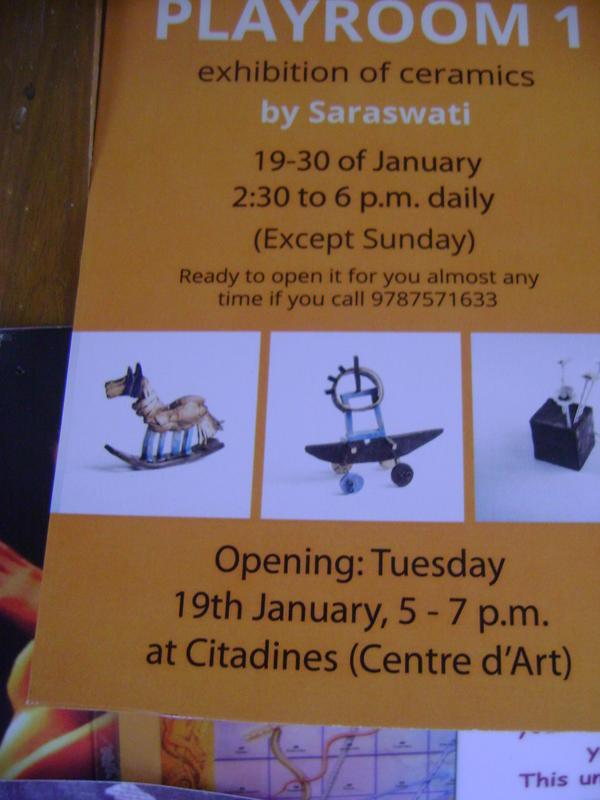 Photographer:Tilia | Saraswati exhibition at Citadine Centre d' Art