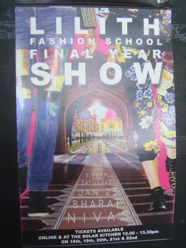 Photographer:Breena   Lilith Fashion School  23rd at 6pm at 8pm at Bharat Nivas