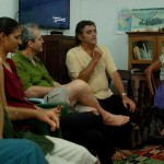 Representatives of GEN and Auroville discussed together