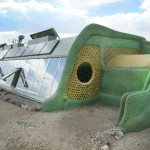 earthship - sustainable living off the grid, producing organic food