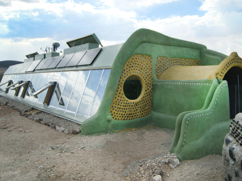 Photographer:web | earthship - sustainable living off the grid, producing organic food