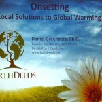 Local Solutions To Global Warming