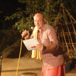 The Open Mic sessions are organised by Krishna.