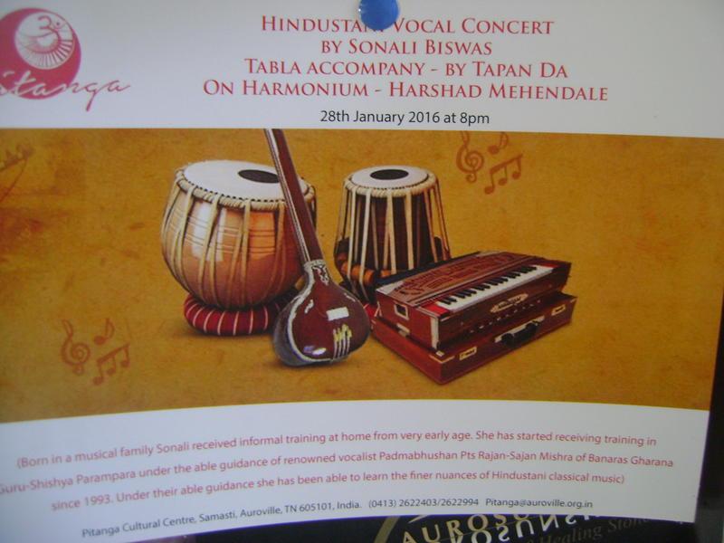 Photographer:Amela | Hindustani  Vocal Concert  Bharat Nivas