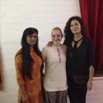 Tanvi Gupta, Laura Haslett and Melanie LeFebvre