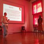 Laura Haslett and Tanvi Gupta's presentation