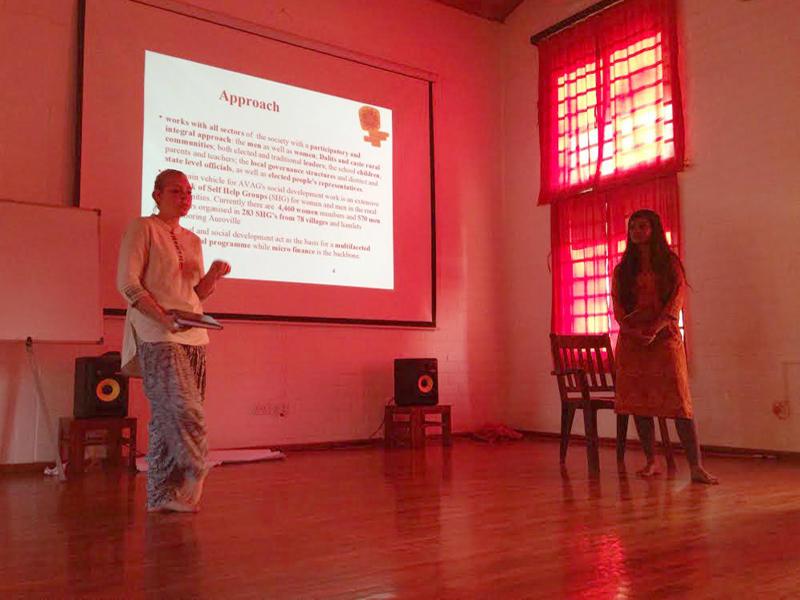 Photographer:The Unstitute | Laura Haslett and Tanvi Gupta's presentation