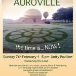 Landing Auroville design by Jasmin and Aravind