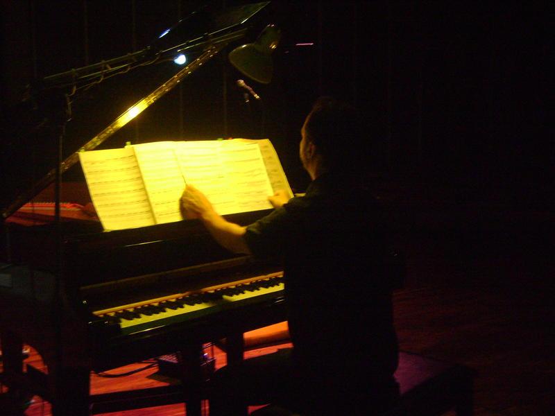 Photographer:Manya | Pushkar on piano