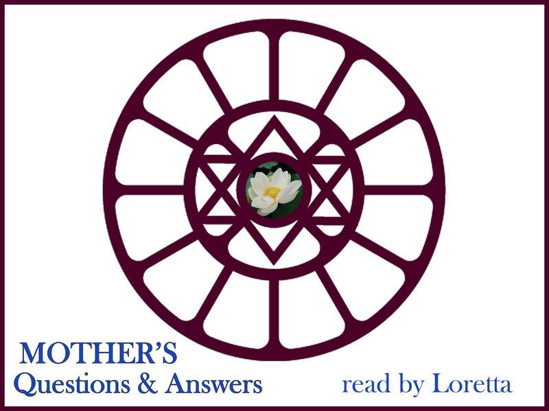 Photographer:Loretta | Sri Aurobindo's Symbol in Mother's Symbol, Designed by Mother