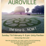 Landing Auroville Sunday at 4pm at UP