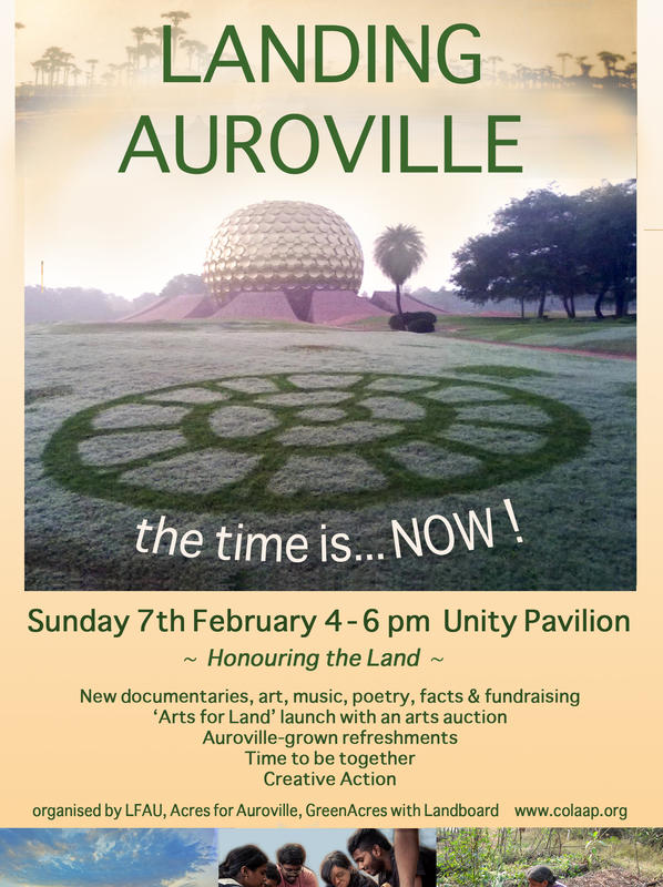 Photographer:web | Landing Auroville Sunday at 4pm at UP