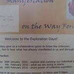 <b>Manifestation on the Way Forward PT2</b>