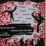 capoeira evenings of events for audience -12th, 13th at 7pm at Kalabhumi