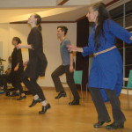The whole ensemble performed Step Dancing
