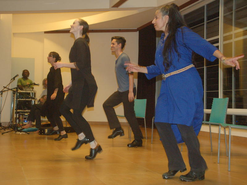 Photographer:Frida | The whole ensemble performed Step Dancing