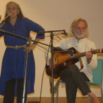 The two musicians Bill and Livia Vanaver
