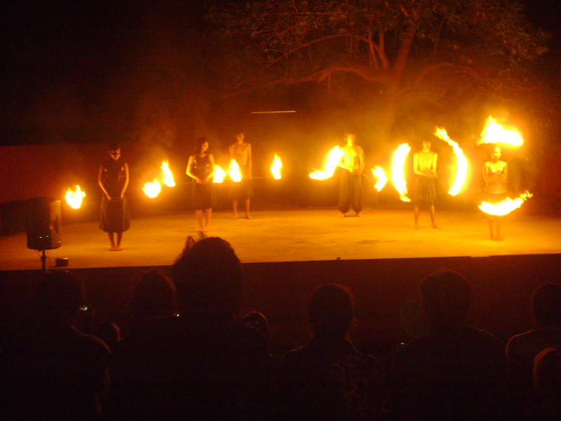 Photographer:Amelia   Auroville Fire Spinning Crew