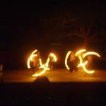 Auroville Fire Spinning Crew