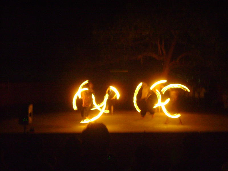 Photographer:Amelia | Auroville Fire Spinning Crew