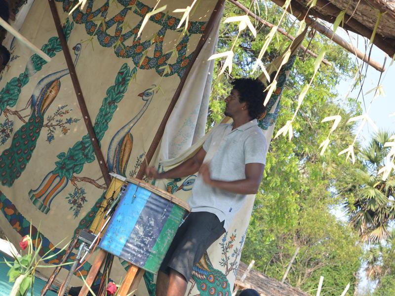 Photographer:Gajalakshmi.C | Playing tradional drum