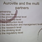 Auroville and the multi partners